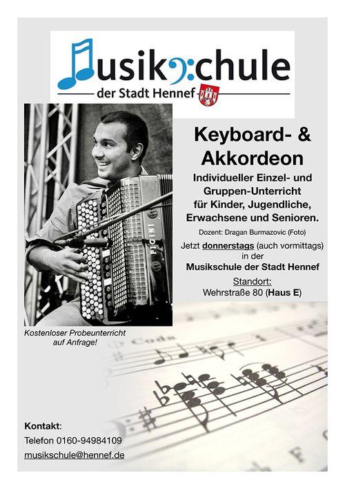 Hennef Stadt Keyboard Und Akkordeon Unterricht