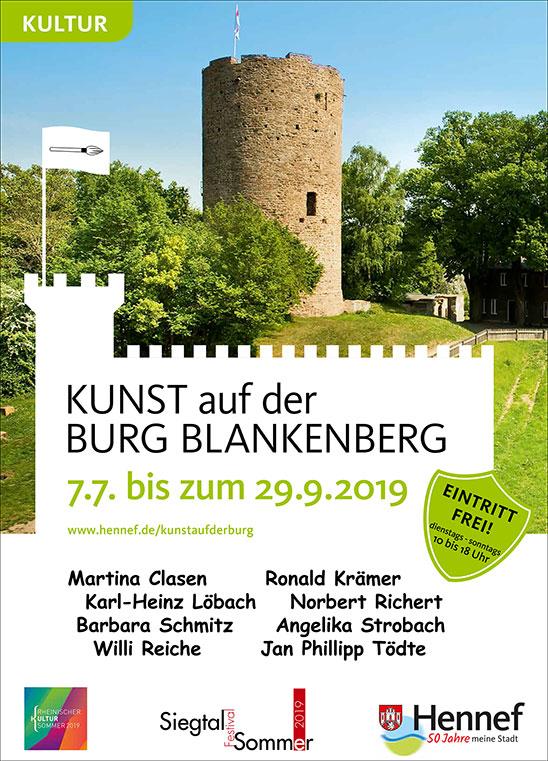 Hennef Stadt: Kunst auf der Burg